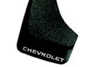 Splash Guards, Flat w/ Contour (Chevrolet logo)